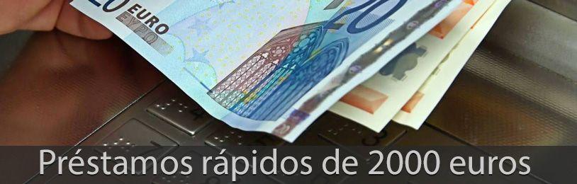 préstamos rápidos de 2000 euros